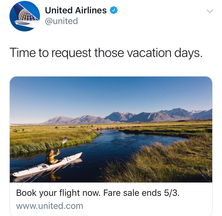 9a7e13a5c25 United Airlines on Twitter
