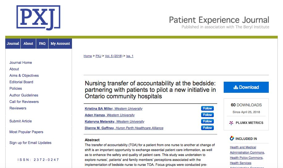 why is accountability important in nursing