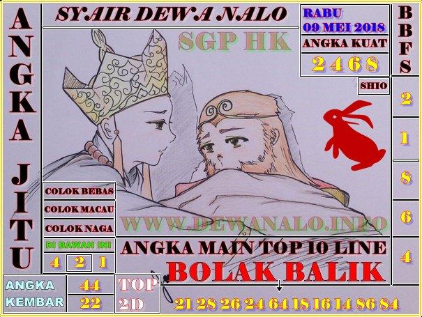 Syair Dewa Nalo Rabu 09-05-2018