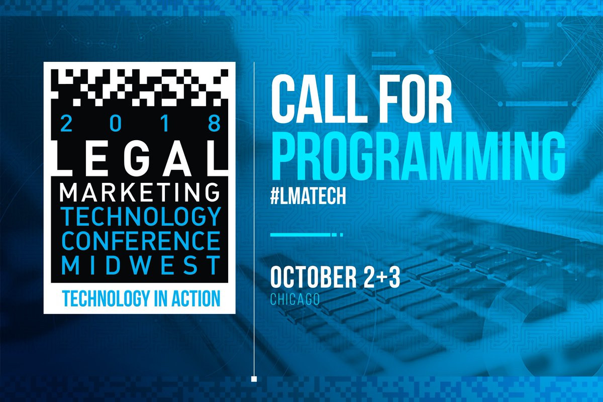 """lma midwest region on twitter: """"last week to submit programming"""