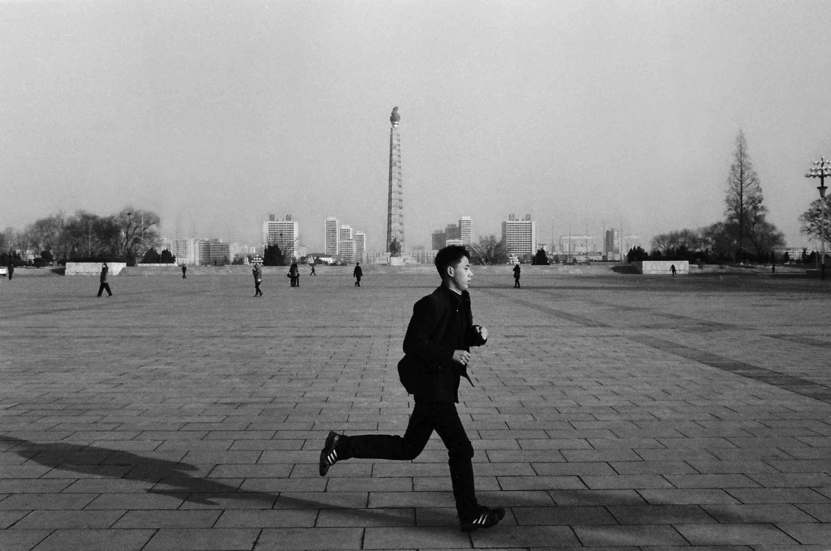 In his series crossing the river chinese photographer zhou yue documents the country of north korea through black and white photography now on neochas