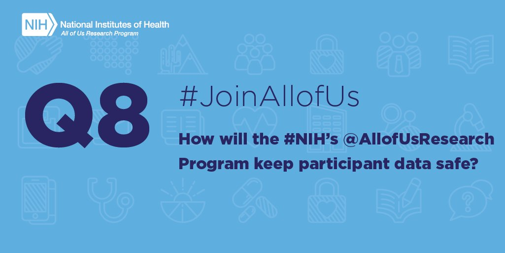 Nih On Twitter A8 Safeguarding Participants Privacy And Data Is