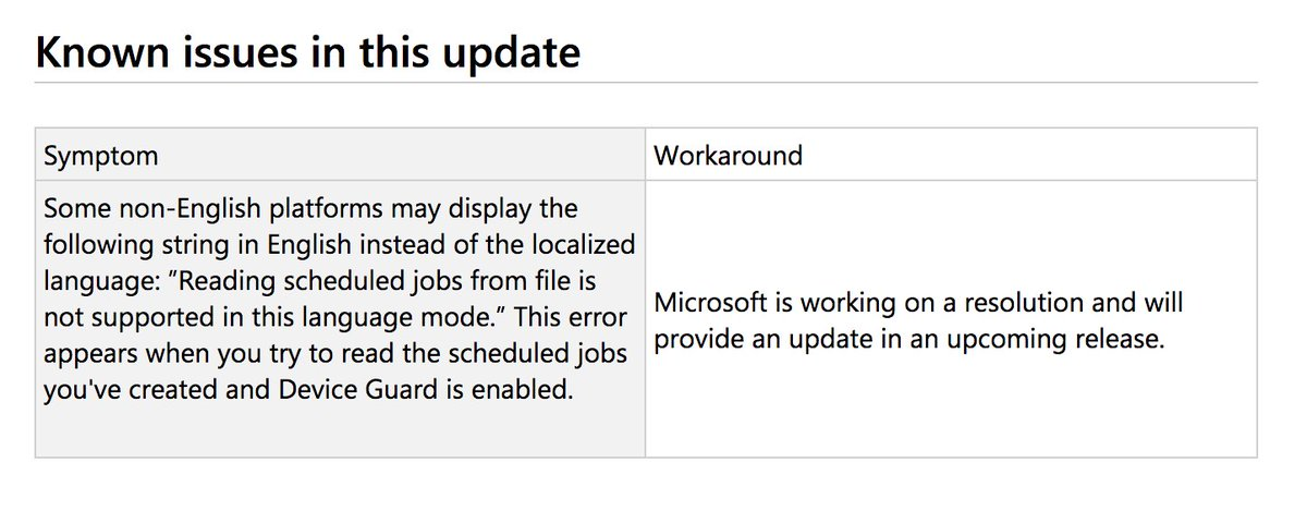 microsoft patch tuesday may 2018 issues