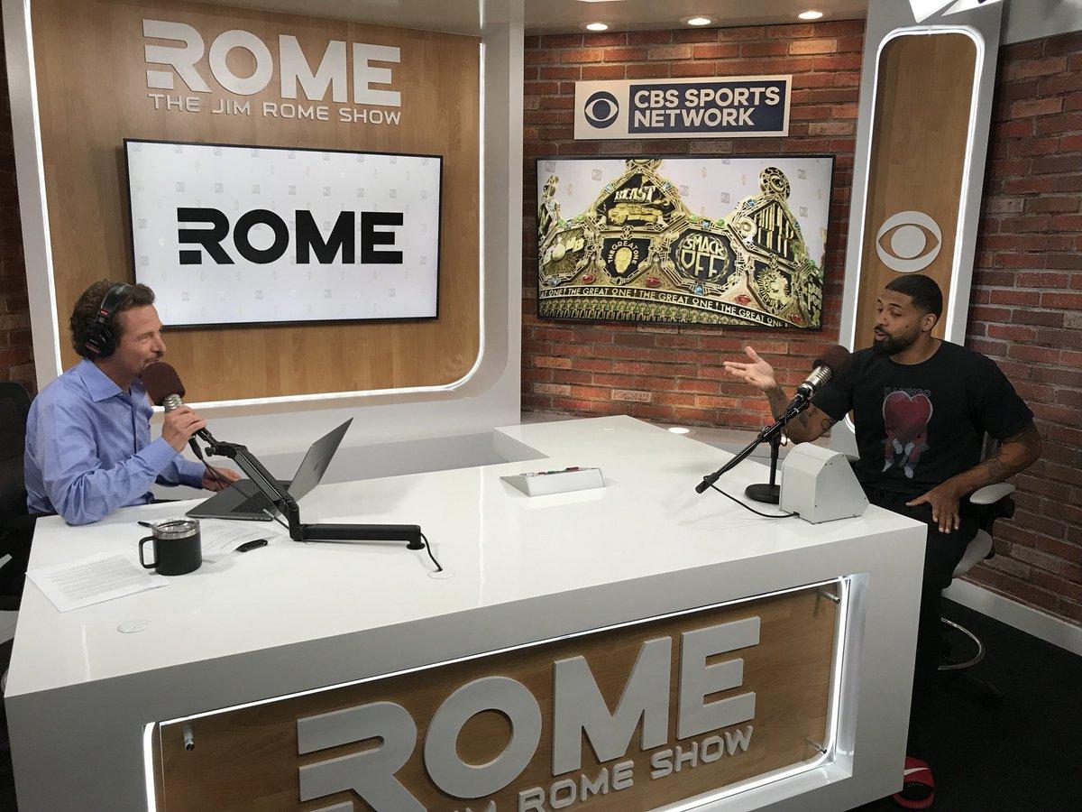 "Jim Rome on Twitter: "".@ArianFoster in studio right now on @CBSSportsRadio  and @CBSSportsNet… """