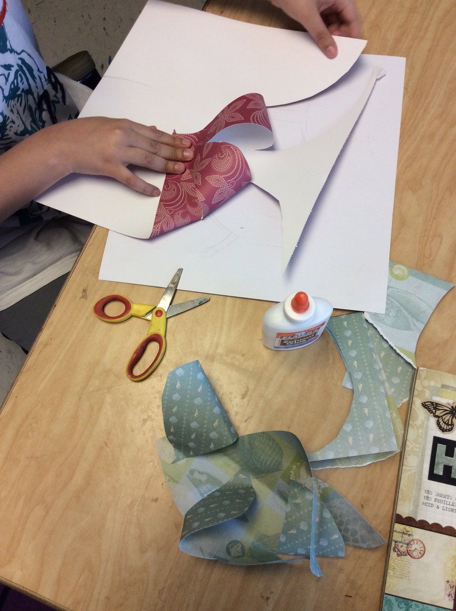 4th graders are using paper to plan how they will create an abstract clay slab sculpture! <a target='_blank' href='http://twitter.com/OakridgeSpecial'>@OakridgeSpecial</a> <a target='_blank' href='https://t.co/N0gSecvDSw'>https://t.co/N0gSecvDSw</a>