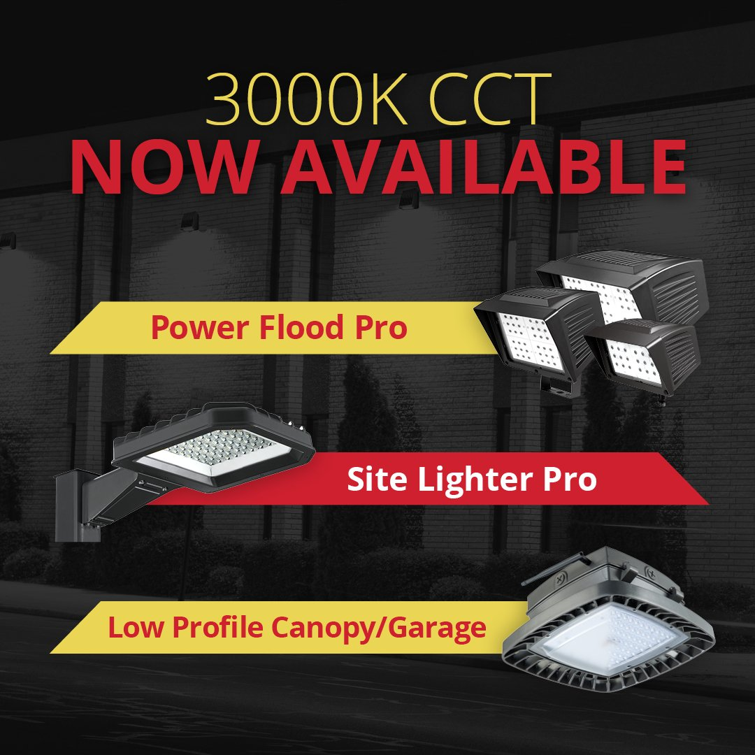 Atlas Lighting On Twitter 3000k Cct Is Now Available In