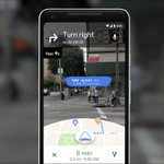 #GoogleMaps #WalkingNavigation feature using #AugmentedReality a ground breaking feature - <high respect> for @aparnacd and her team.. #VisualPositioningSystem