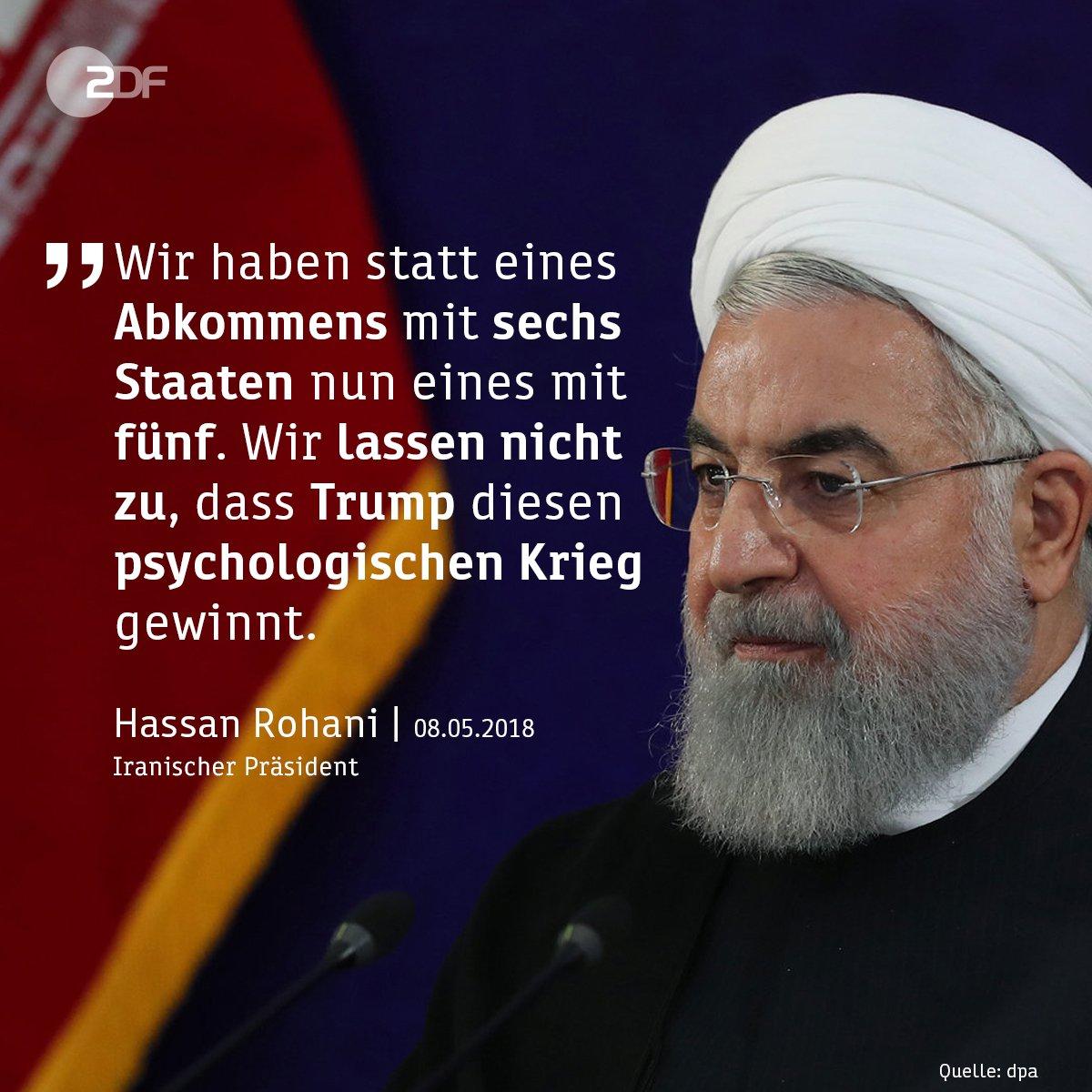 Auch nach dem Ausstieg der #USA aus dem Atomabkommen mit dem #Iran hält #Teheran an der Vereinbarung fest.