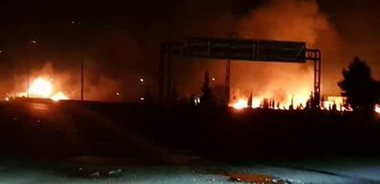 Израиль нанёс удар по Сирии