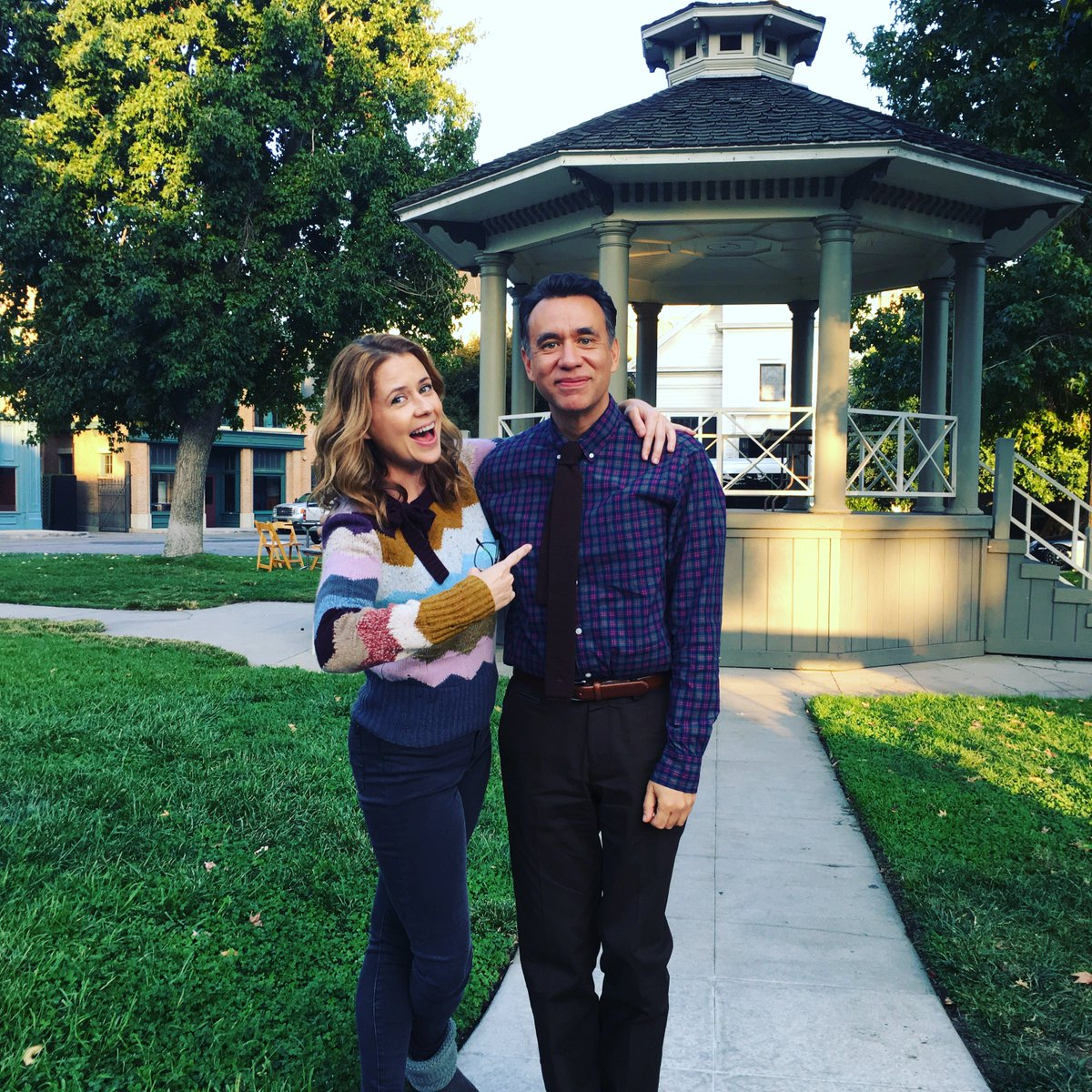 This person is my friend and he's on Splitting Up Together TONIGHT! #FredArmisen #splittinguptogether #abc