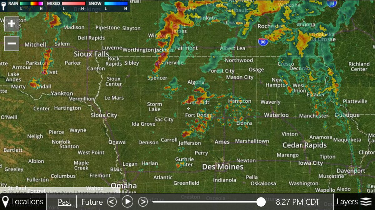 Kcrg Tv9 First Alert Weather On Twitter A Narrow Line Of Showers