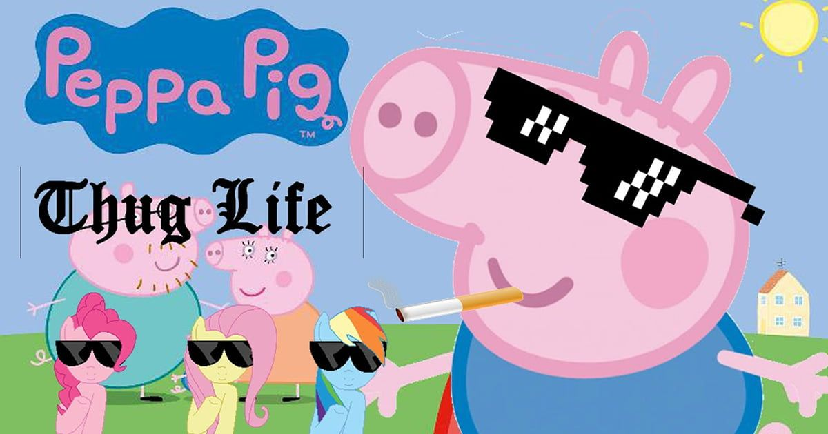 9gag On Twitter Peppa Pig Memes Are Banned In Video App For