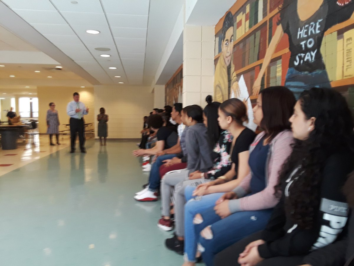 Tommy Welch On Twitter Boston Community Leadership Academy Bcla Boston Unveils Their New Mural Students Share Their Inspiration For This Amazing Project With Suptchang Marty Walsh Robconsalvo And Other City Leaders Bostonschools Https T Co