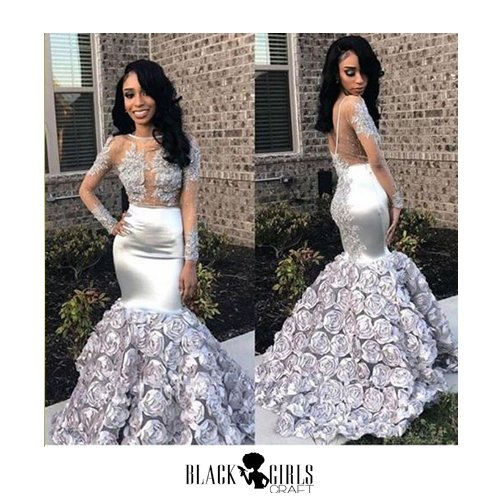 prom dresses black girls slay
