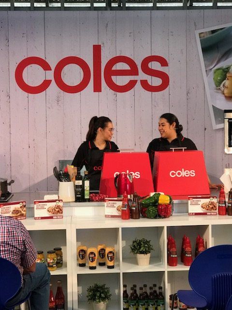 Tasia & Gracia ex MKR are now cooking live at the Walter Pearce Pavilion – come and check it out! #BeefWeek #BeefAus2018
