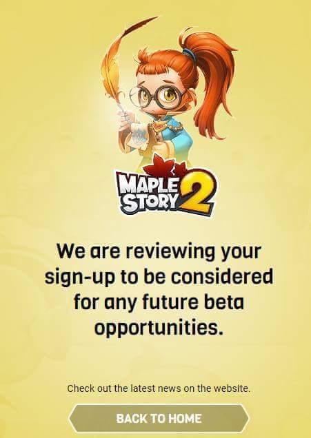 MapleStory 2 on Twitter: