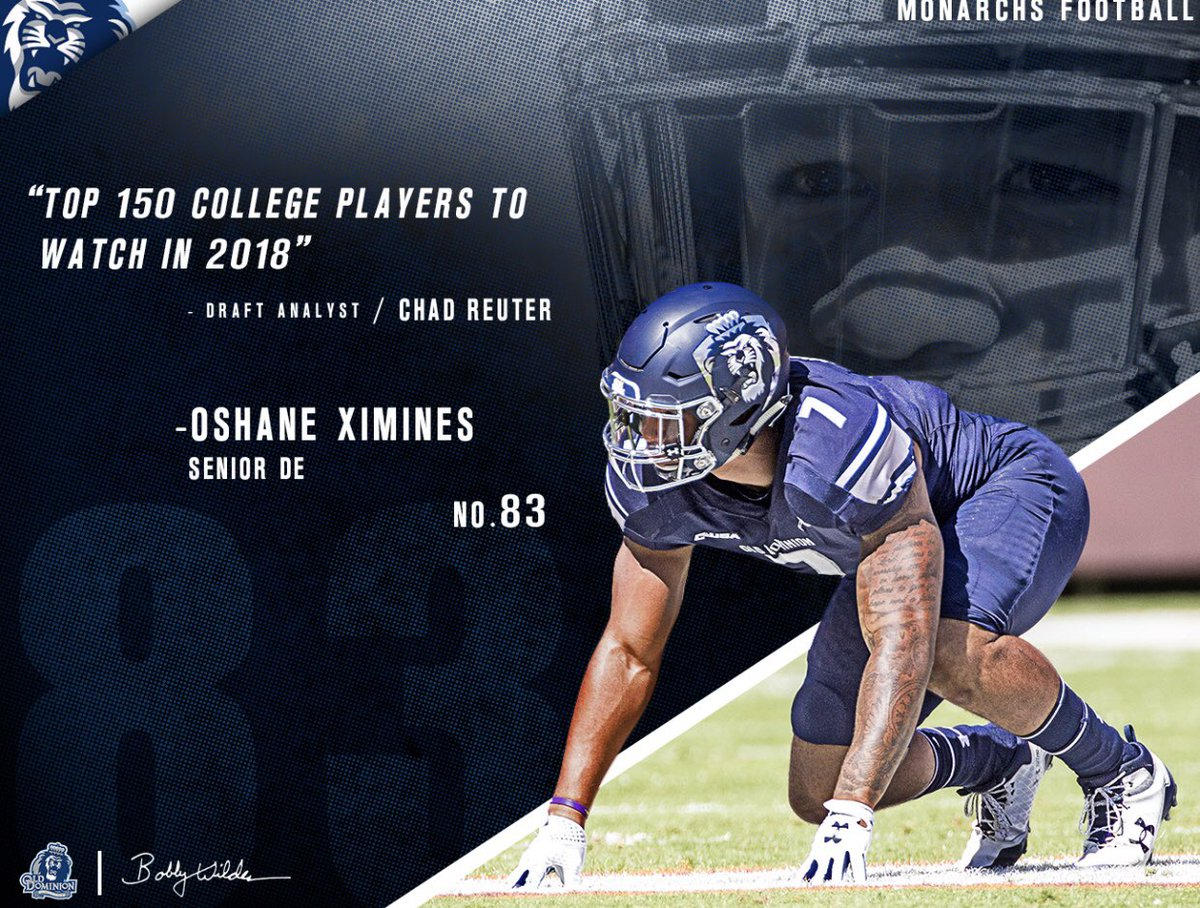 Image result for oshane ximines old dominion