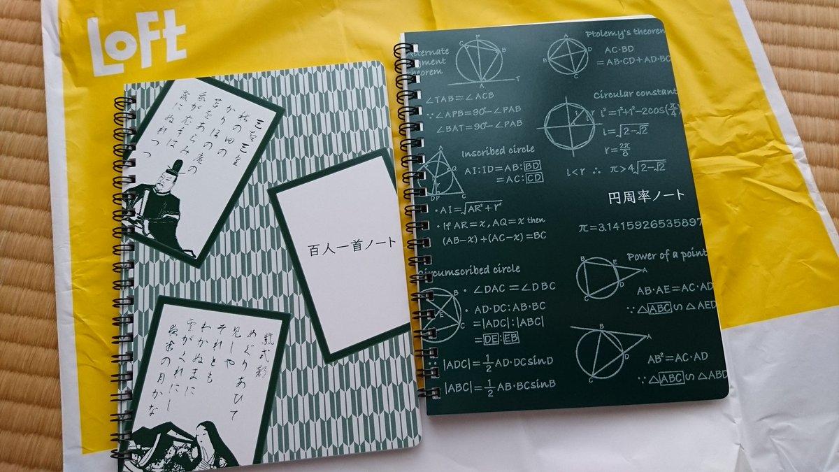 ロフトで売ってたノートがなかなか気が狂ってる感があってうっかり買ってきた( º言º)ツイツイウッカリ
