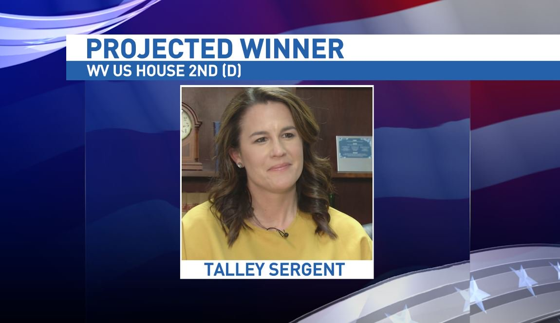 #BREAKING: Talley Sergent wins Democratic House 2nd District primary #YourVoiceYourFuture #WVPrimary