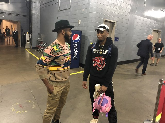 Donovan Mitchell's rookie year ends with a little more advice from mentor Chris Paul. https://t.co/qA1wowJegC