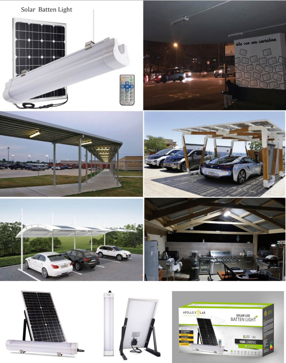 Viola Mr Auroras Lighting On Twitter New Solar Batten Light Kit Shed Tent Kiosk Garage Lights Off Grid