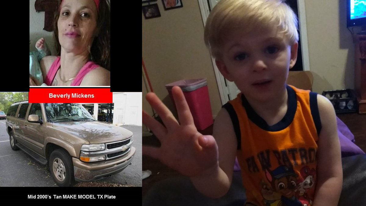 Amber Alert issued Texas City child suspect driving tan mid