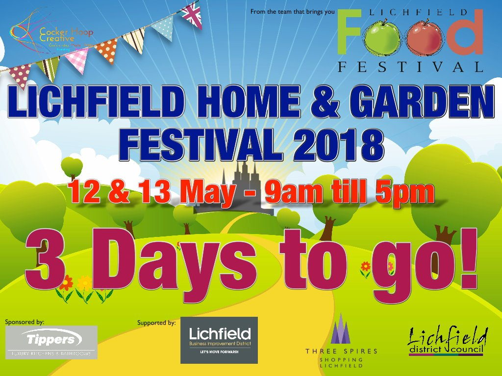 exciting home and garden party. Last year this little Home  Garden Festival helped Lichfield in Bloom scoop the Britain Gold Award lets see if we can do it again Food Fest LichFoodFest Twitter
