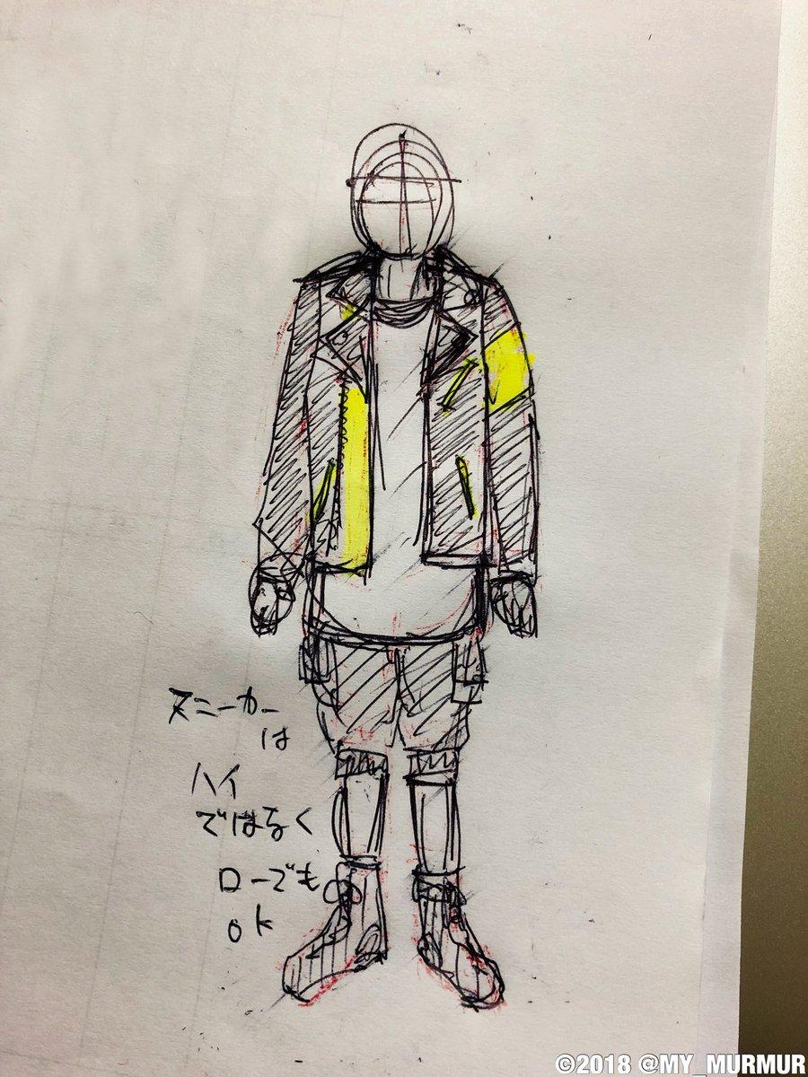 いつもはスタイリストさんと事前に会い、話しあってデザインを決めるのですが、自分だけどうしても時間が合わず。今回はイメージ描いて送ったのを元に作って頂きました。衣装は各自の要望をヒアリングしてデザインしているのです!