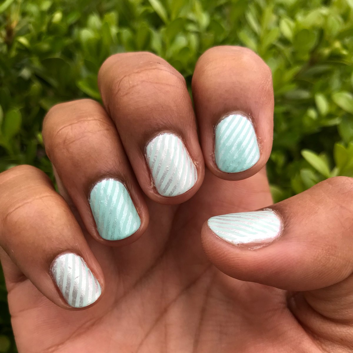 Curlycomedy Nail Art On Twitter Empower Mint And At Sea Level By