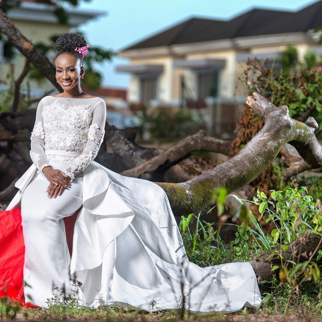 #BBNaija star Anto bridal shoot