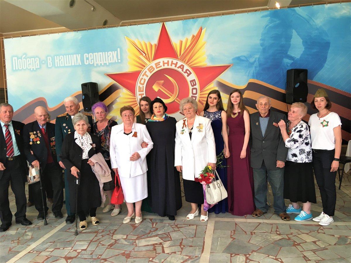 Поздравление ветеранов коллектива
