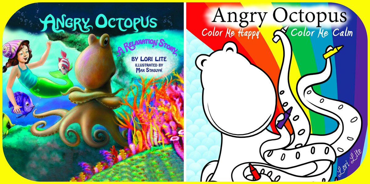 Lori Lite On Twitter Keep Angry Octopus And Color Me Happy Calm In Your Office Tco TNyKhNy0LX Childpsychology