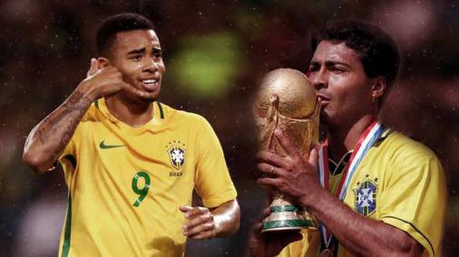 Romário dá dica para Gabriel Jesus na Copa: 'Transar bastante' https://t.co/OhTGYwbw88