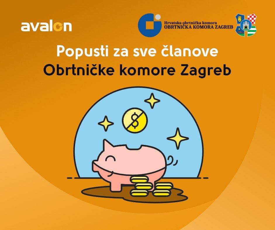 Potpisali smo sporazum o suradnji s Obrtničkom komorom Zagreb u sklopu programa Artifex, gdje ZG obrtnici mogu ostvariti i do 20% uštede na naše usluge! Više na https://t.co/4EyWGWraRY cc @obrtniciZG https://t.co/gvMXios2qK