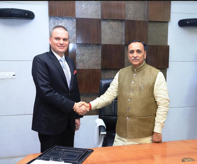 Gujarat govt signs MoU with Poland's Ambassador for celebration of Poland's Independence Day Centenary in October