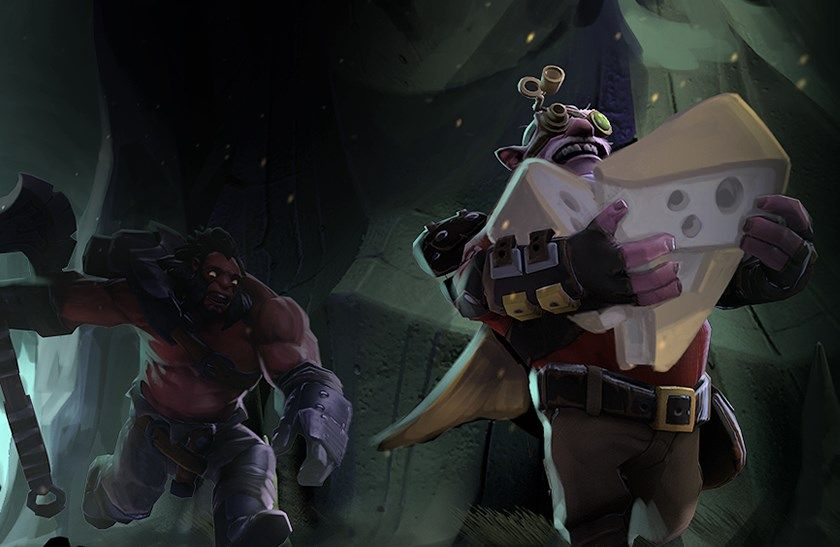 Dota 2 is getting a Battle Royale-style game mode