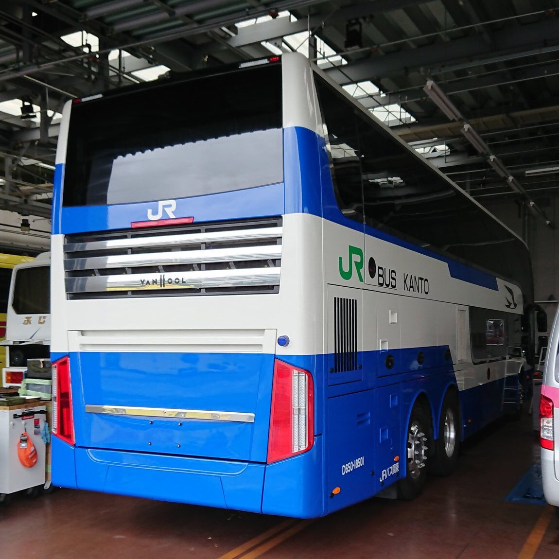 某所より頂きました。UPして良いとのこと。 #バス関東 #バンホール #アストロメガ