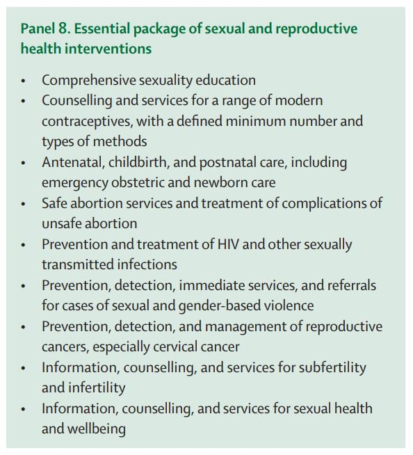 the impact of sexual and gender based violence on reproductive health Sexual & reproductive health rights this area focuses on critical issues in sexual and reproductive health rights and gender advancing srhs is advancing gender justice.