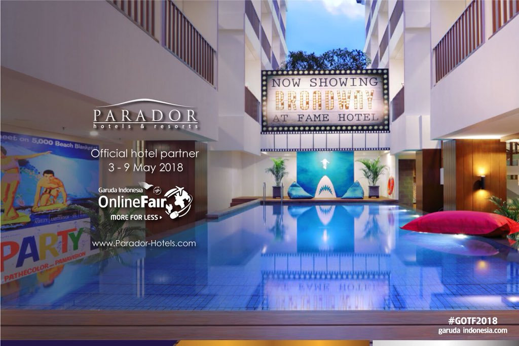 Fame Hotel Sunset Road Kuta Bali On Twitter We Are Proud To Be An Official Hotel Partner For Garuda Indonesia Online Travel Fair 3 9 May 2018 Visit Https T Co Wwbv15ojj3 Or