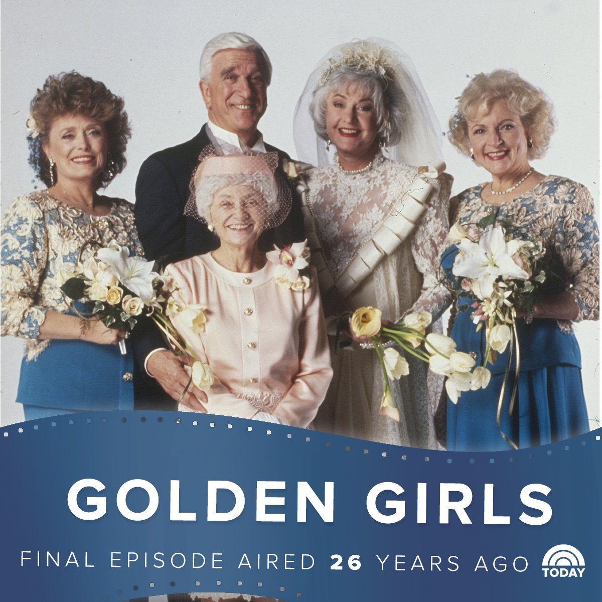 The #GoldenGirls finale aired on this day in 1992!