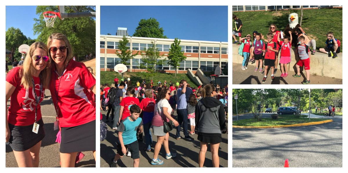 What a success! We had our lower parking lot empty 🚲 ✔️ Everyone joined our rally 🎉✔️ And wonderful weather ☀️✔️ <a target='_blank' href='http://search.twitter.com/search?q=APSBike2SchoolDay'><a target='_blank' href='https://twitter.com/hashtag/APSBike2SchoolDay?src=hash'>#APSBike2SchoolDay</a></a> <a target='_blank' href='https://t.co/aJJOGpZgTB'>https://t.co/aJJOGpZgTB</a>