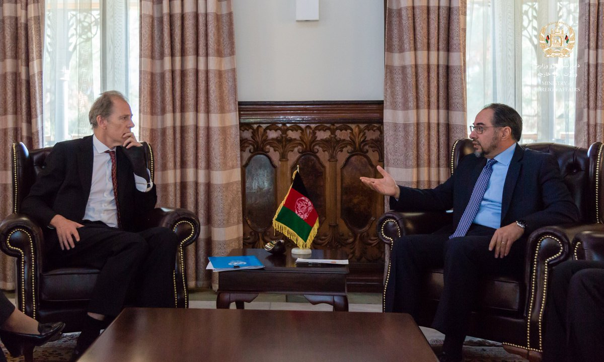 Foreign Minister Meets UN Assistant Secretary-General for Human Rights go.mfa.af/50bd8