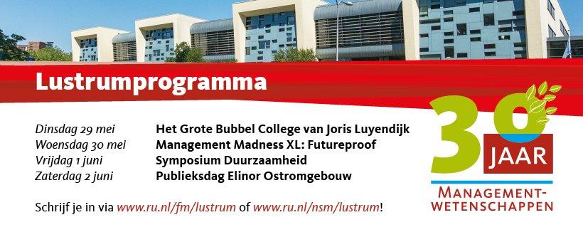 Faculteit Der Managementwetenschappen Ru Nijmegen On Twitter Ter