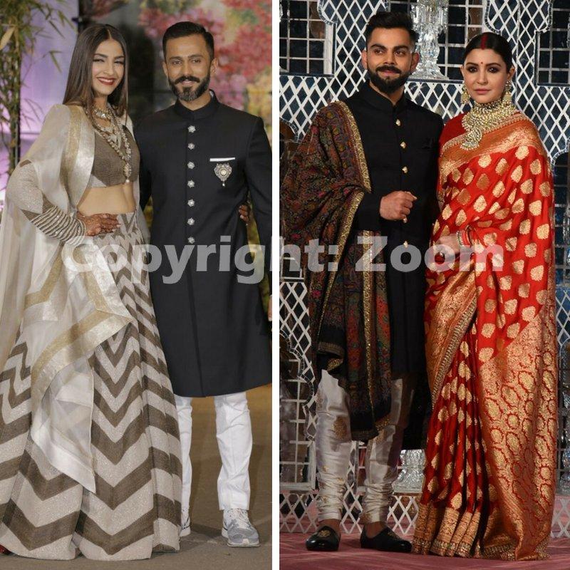 Who's wedding do you think was more glamorous?  #SonamAndAnand or #AnushkaAndVirat?