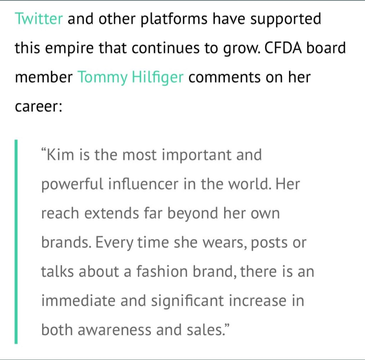 I love you @TommyHilfiger Thank you for your kind words ❤️ https://t.co/FubZ9i7eEZ