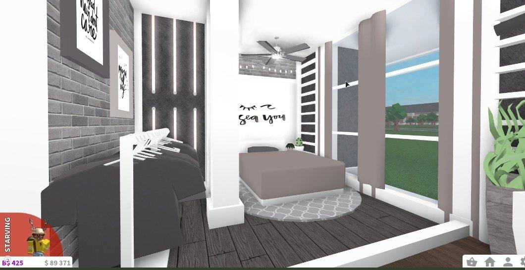 Fall Bedroom Bloxburg