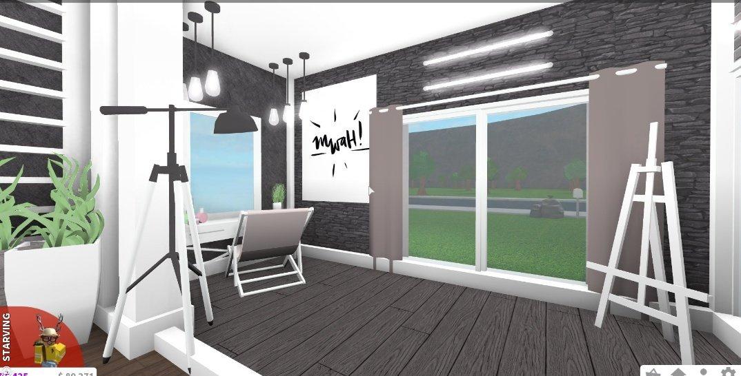 Noelle C On Twitter Bloxburg Aesthetic Bedroom 20k Build
