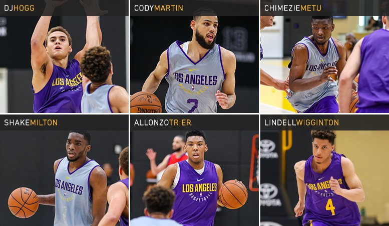 Six more college prospects put their skills on display in El Segundo this morning.   ��: https://t.co/3nRQucV87s https://t.co/Otb0vIujVN