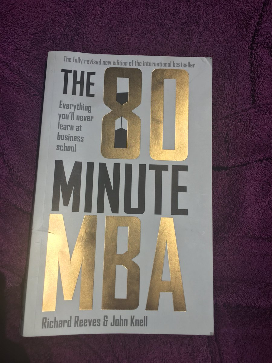 the 80 minute mba reeves richard knell john