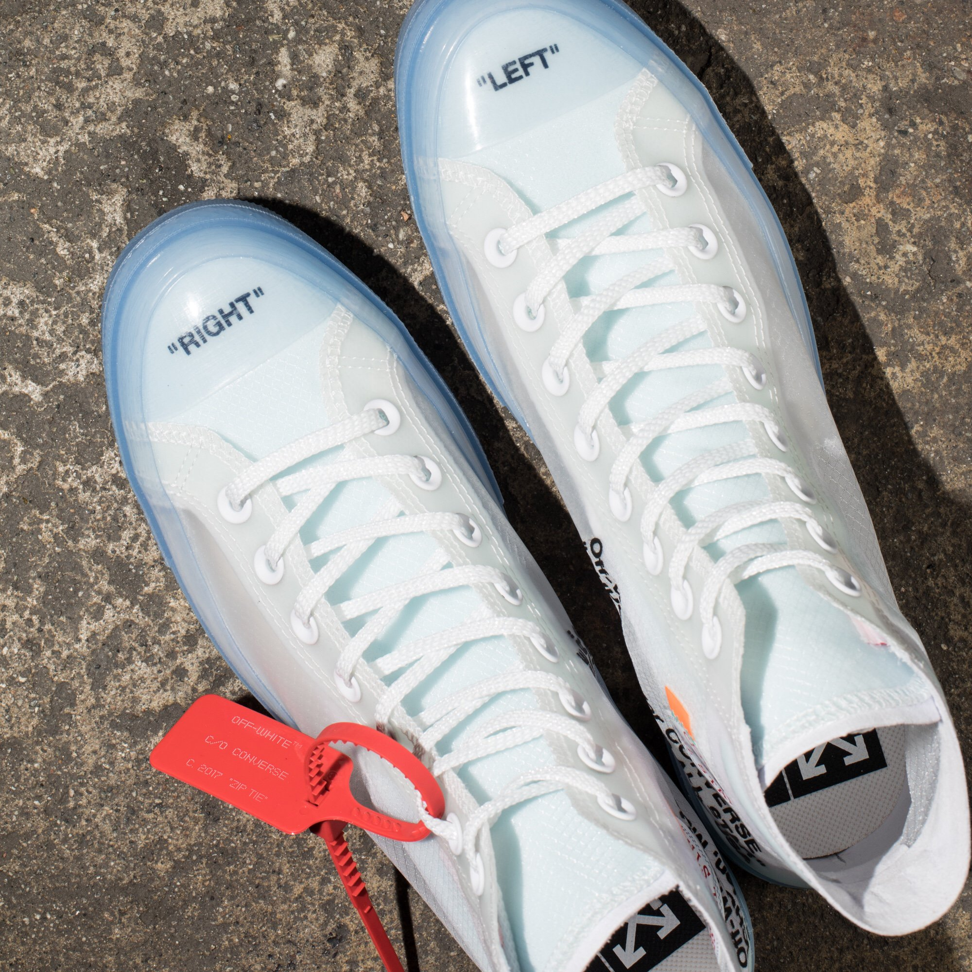 """UNDEFEATED INC. Converse x Off White """"The Ten"""" Chuck 70"""